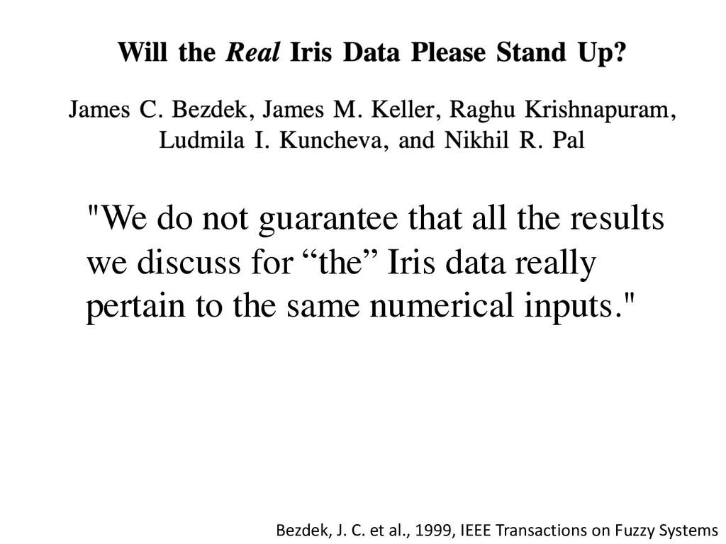 Bezdek, J. C. et al., 1999, IEEE Transactions o...
