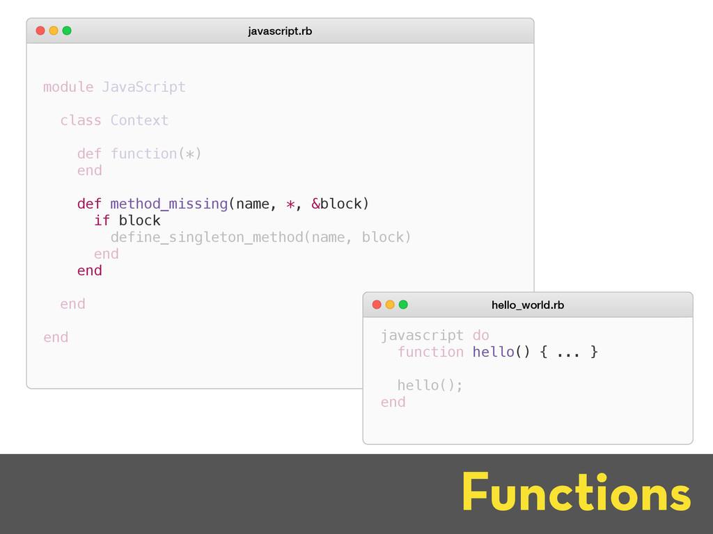 javascript.rb Functions def method_missing(name...