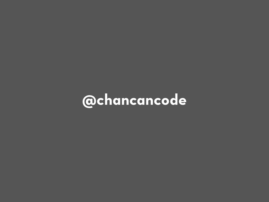 @chancancode