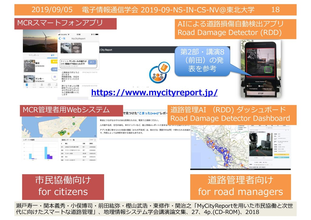 2019/09/05 電⼦情報通信学会 2019-09-NS-IN-CS-NV@東北⼤学 18...