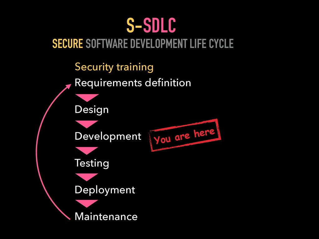 SDLC SOFTWARE DEVELOPMENT LIFE CYCLE Requiremen...