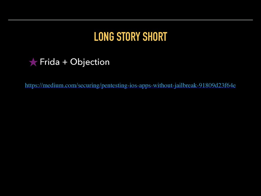 LONG STORY SHORT ★ Frida + Objection https://me...