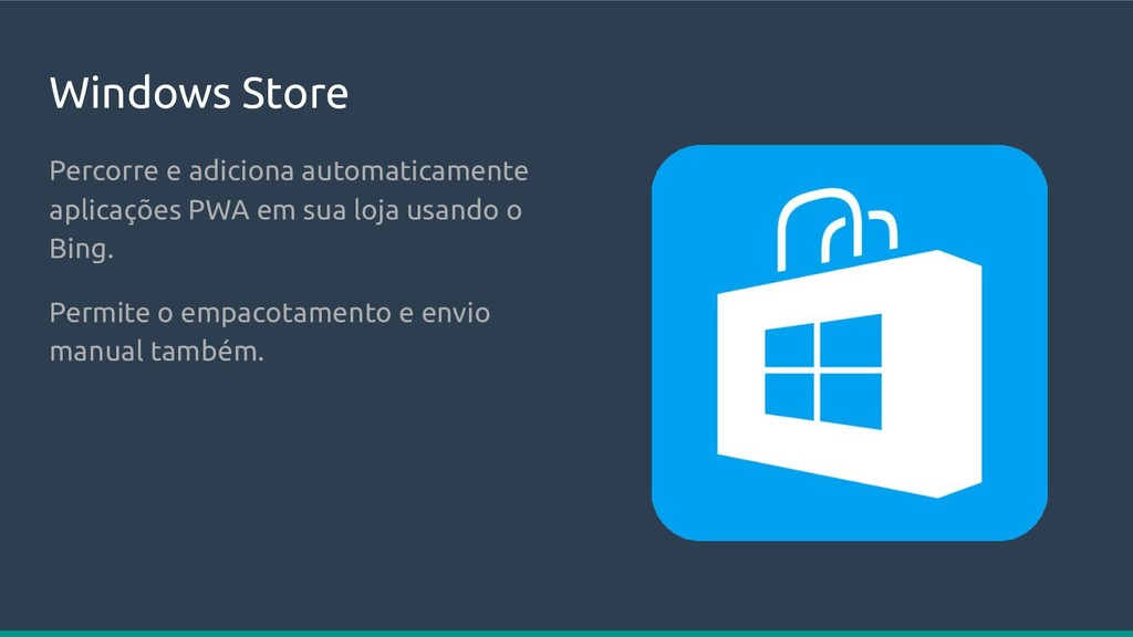 Windows Store Percorre e adiciona automaticamen...