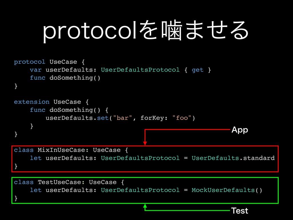 QSPUPDPMΛט·ͤΔ protocol UseCase { var userDefaul...