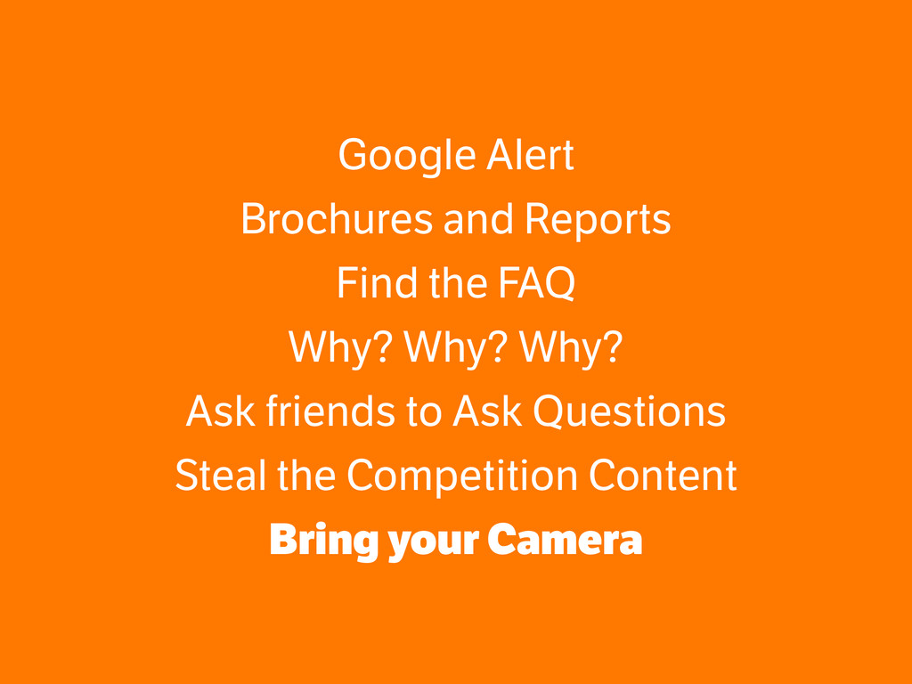 Google Alert Brochures and Reports Find the FAQ...