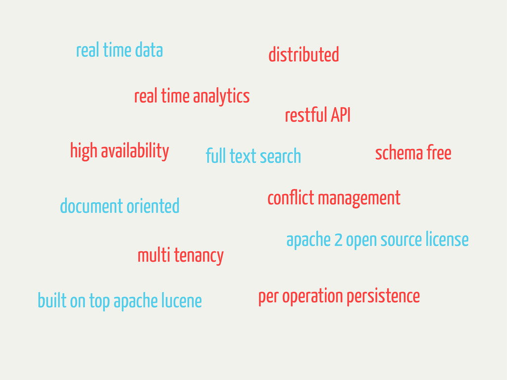 real time data real time analytics distributed ...