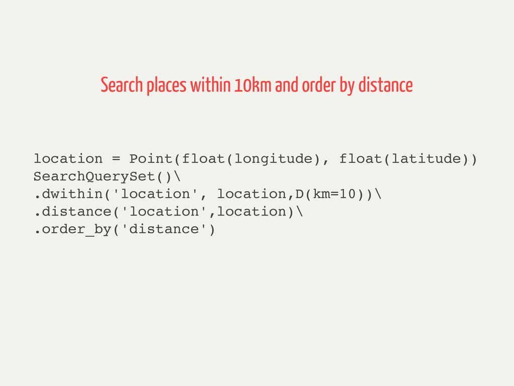 location = Point(float(longitude), float(latitu...