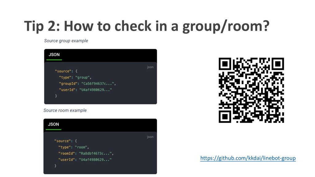 Tip 2: How to check in a group/room? https://gi...