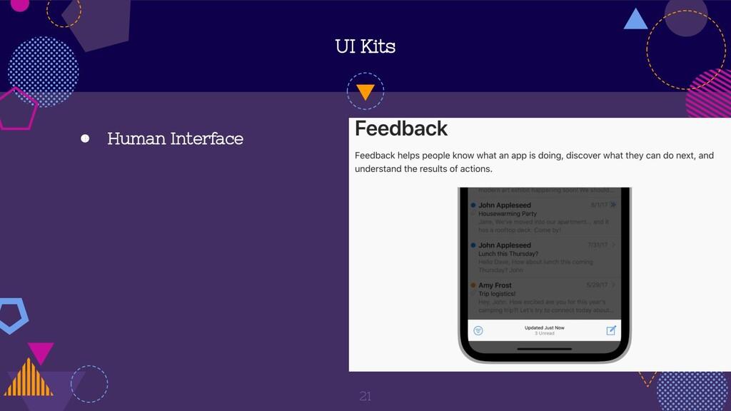 UI Kits ◍ Human Interface 21