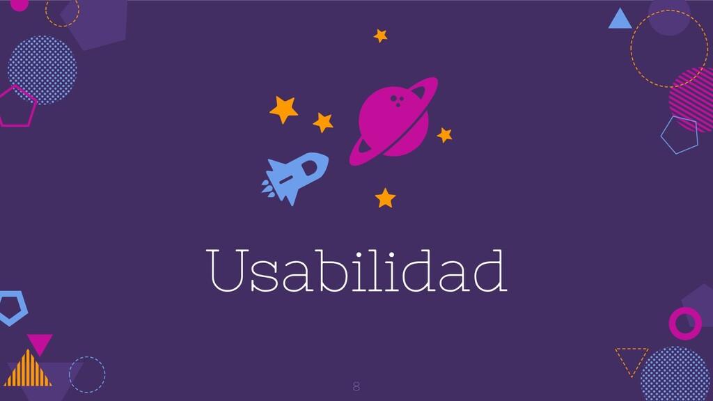 Usabilidad 8