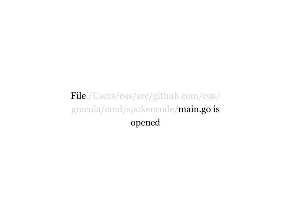 File /Users/c9s/src/github.com/c9s/ gracula/cmd...