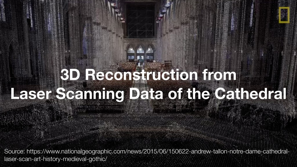 3 3D Reconstruction from Laser Scanning Data of...