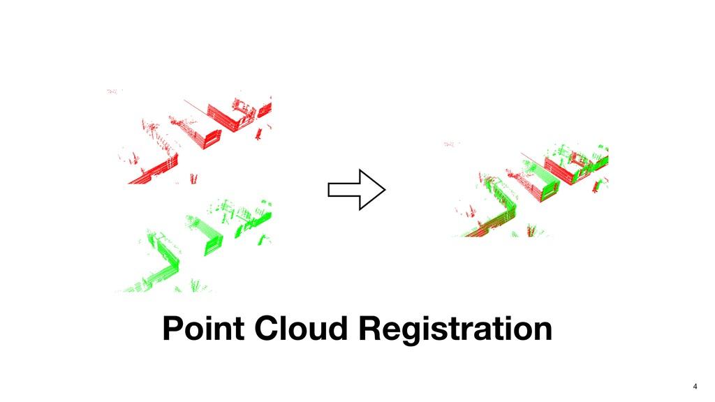 4 Point Cloud Registration