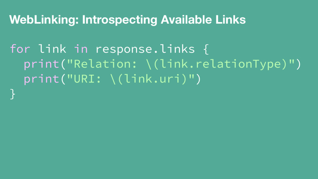 WebLinking: Introspecting Available Links for l...