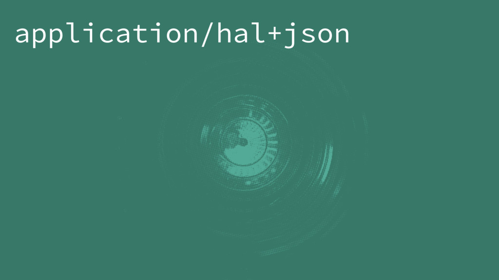 application/hal+json