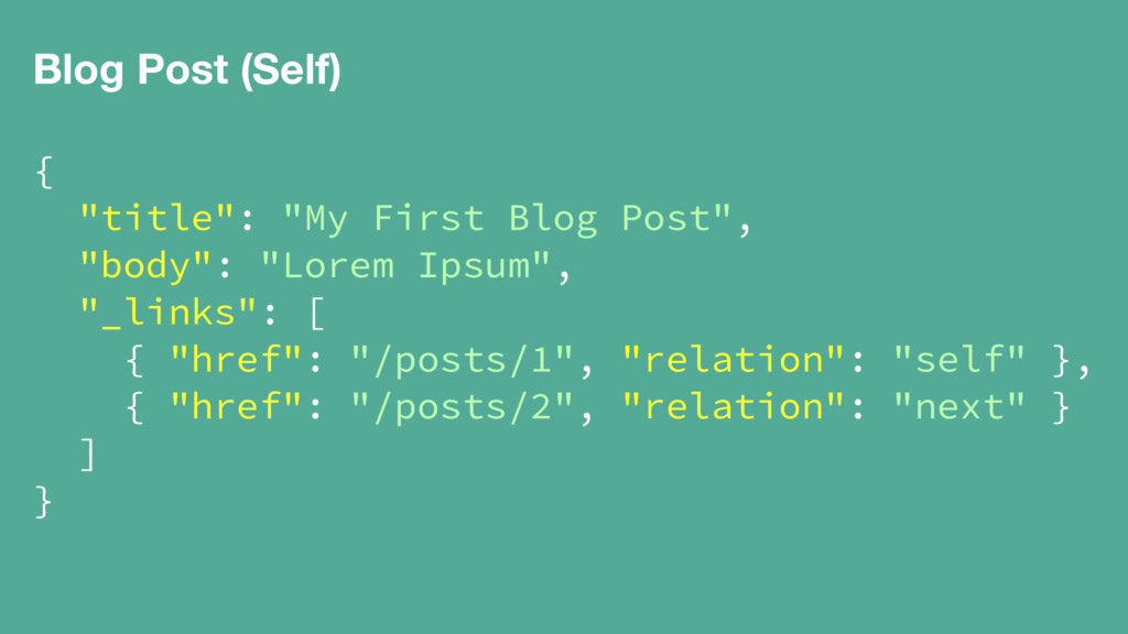 "Blog Post (Self) { ""title"": ""My First Blog Post..."