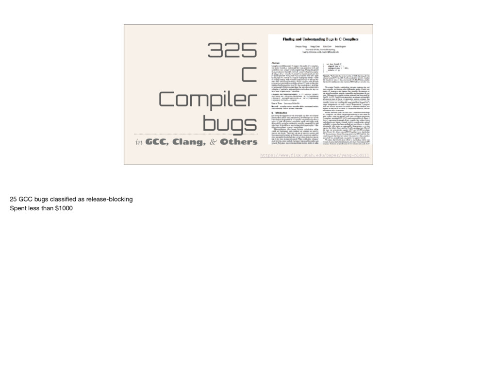 325 C Compiler bugs in GCC, Clang, & Others htt...