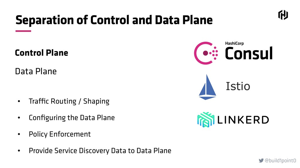 @build1point0  Separation of Control and Data ...