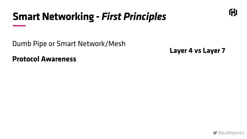 @build1point0  Smart Networking - First Princi...