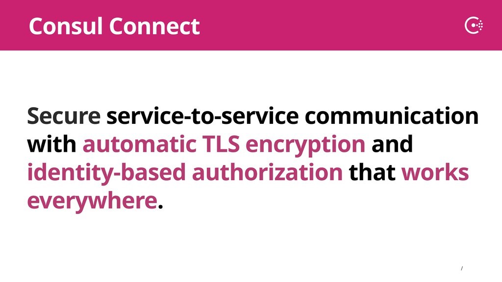∕ Secure service-to-service communication with ...
