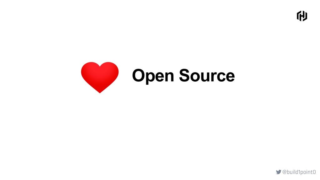 @build1point0  Open Source