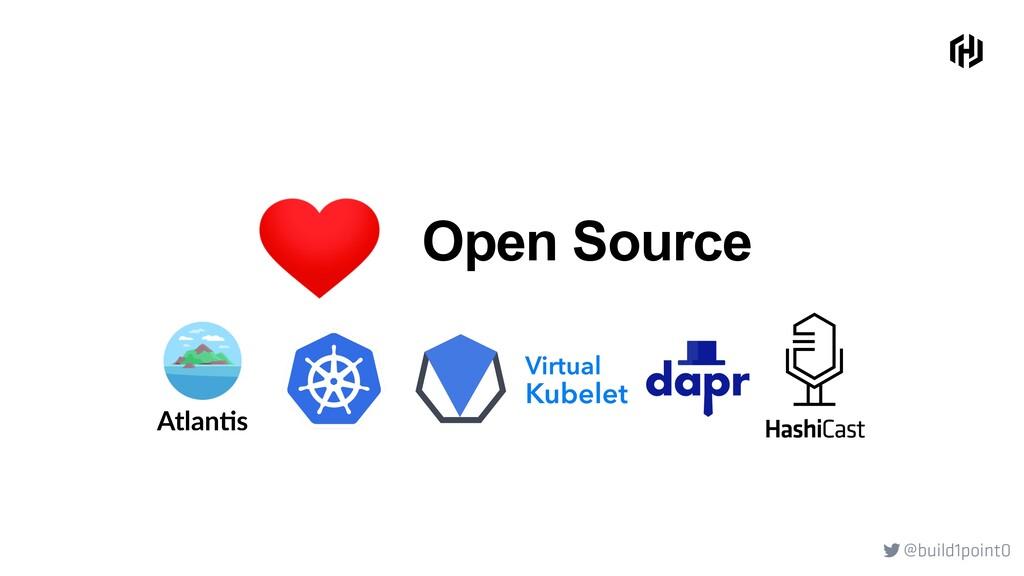 @build1point0  Atlan&s Open Source