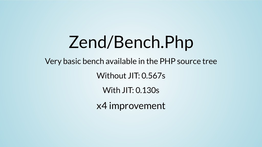 Zend/Bench.Php Very basic bench available in th...