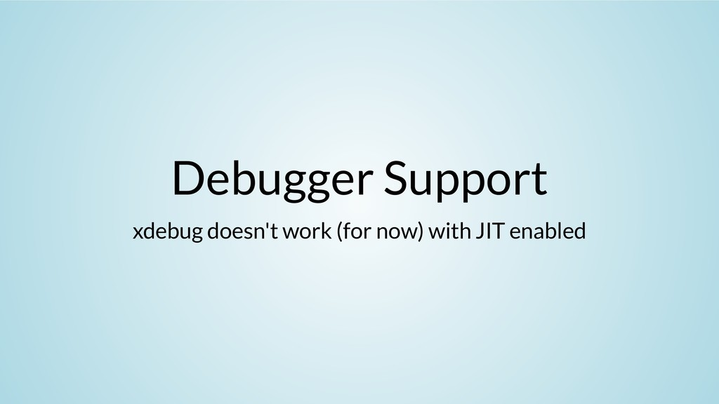Debugger Support xdebug doesn't work (for now) ...