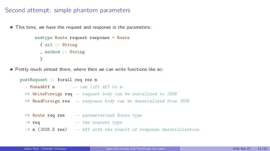 Second attempt: simple phantom parameters This ...