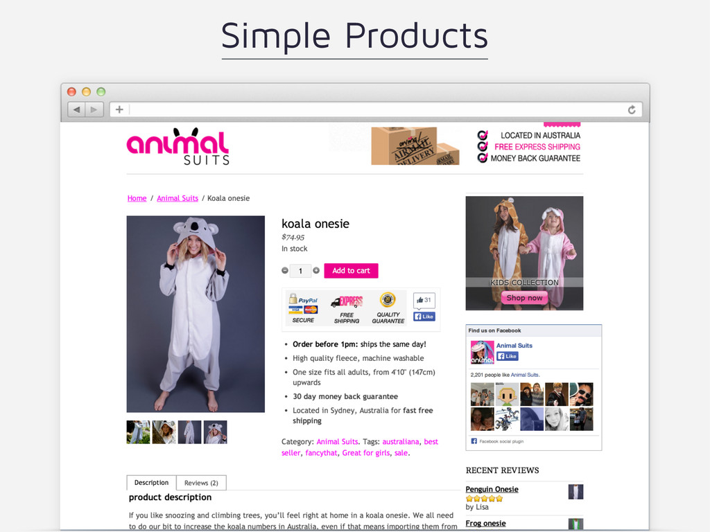 Simple Products