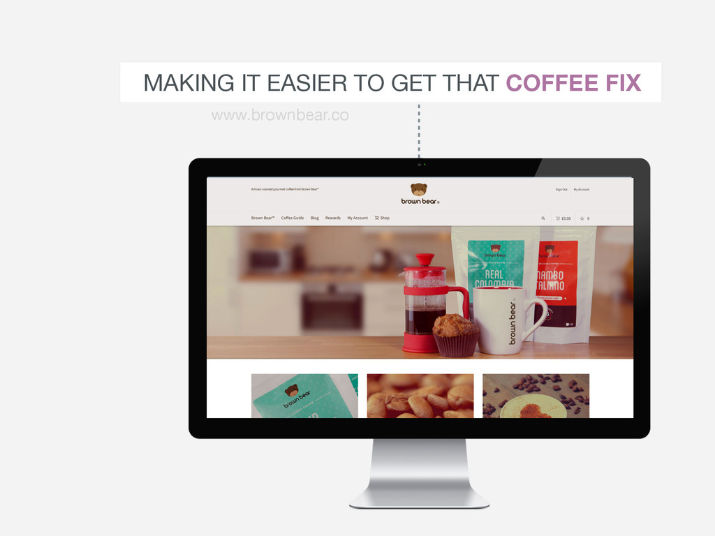 MAKING IT EASIER TO GET THAT COFFEE FIX www.bro...