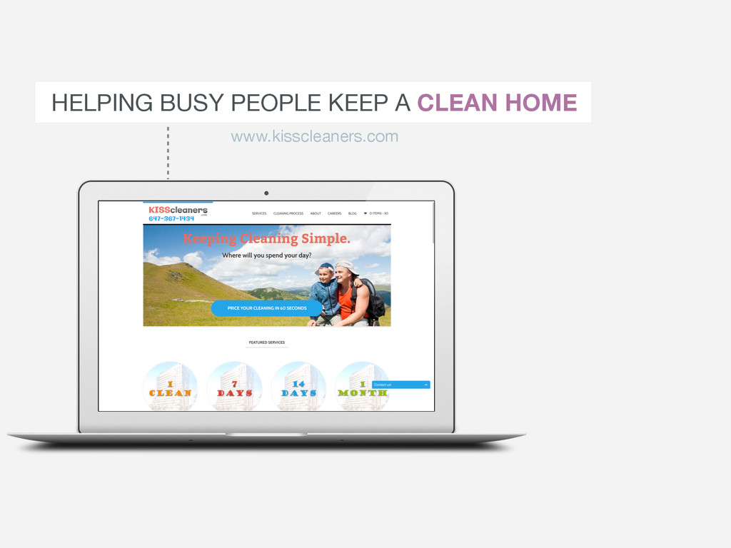 HELPING BUSY PEOPLE KEEP A CLEAN HOME www.kissc...