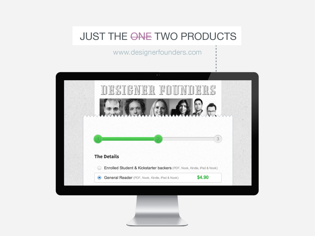 JUST THE ONE TWO PRODUCTS www.designerfounders....