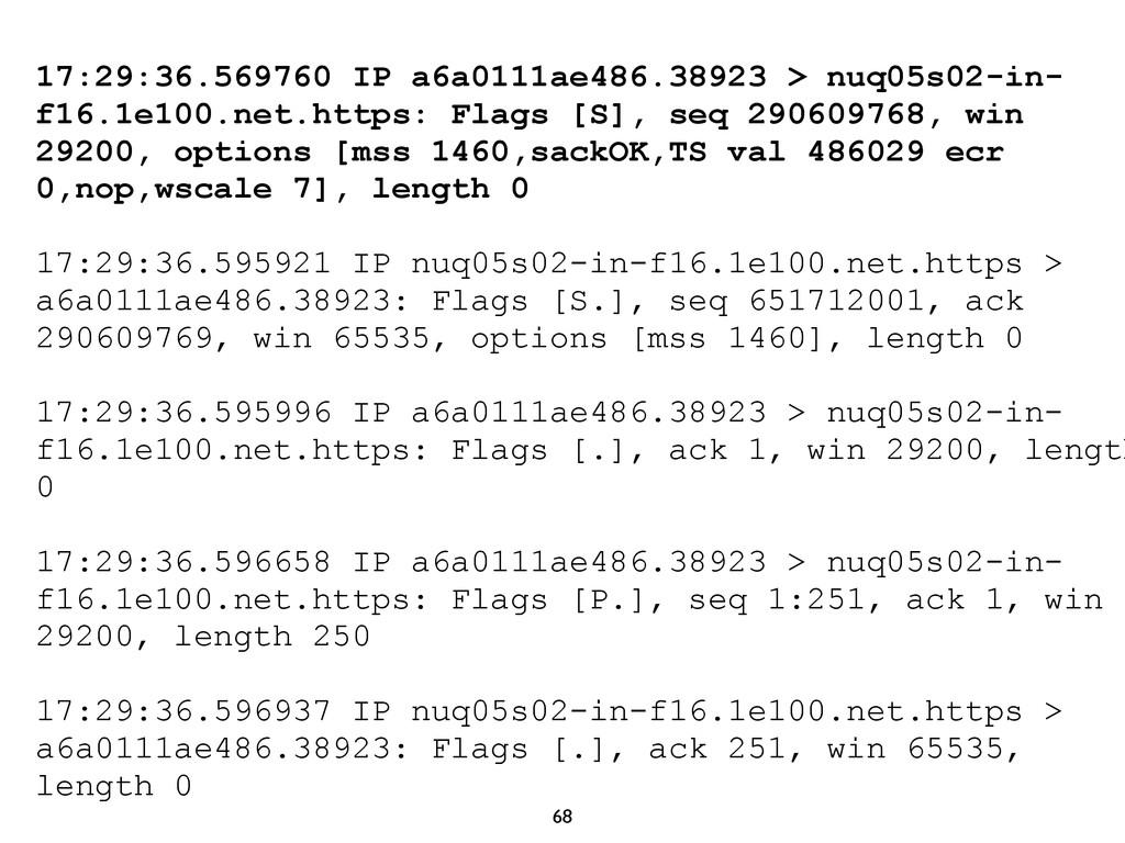 68 17:29:36.569760 IP a6a0111ae486.38923 > nuq0...