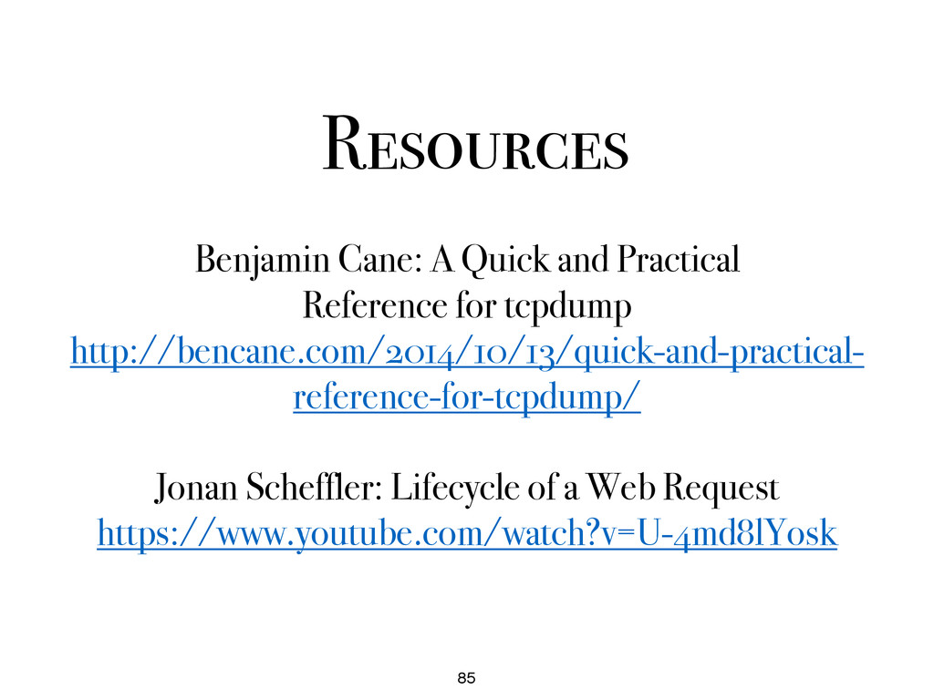 Resources 85 Benjamin Cane: A Quick and Practic...