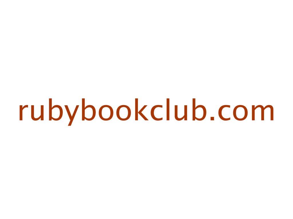 rubybookclub.com