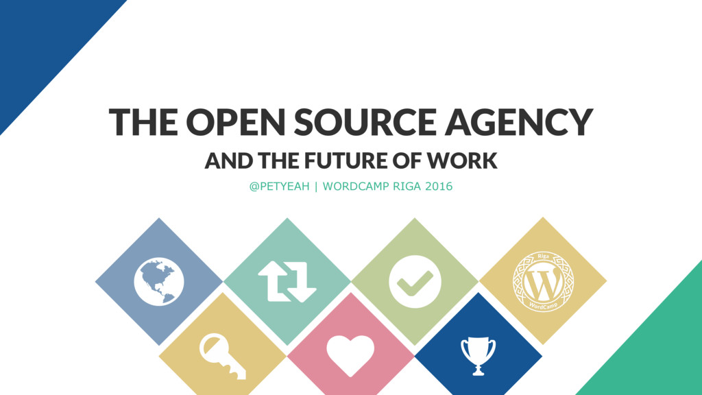 AND THE FUTURE OF WORK @PETYEAH | WORDCAMP RIGA...