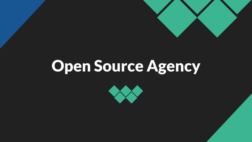Open Source Agency