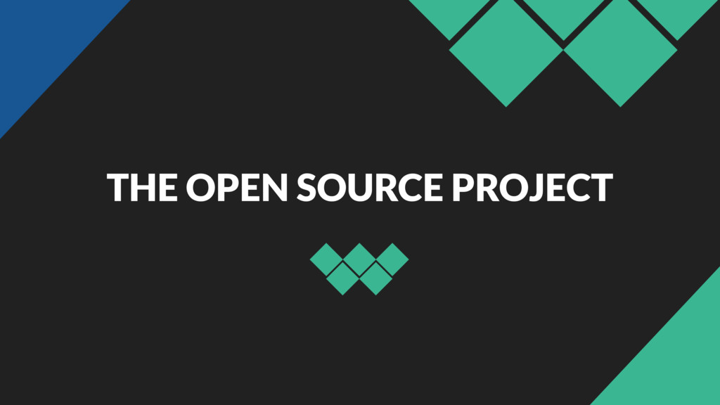 THE OPEN SOURCE PROJECT