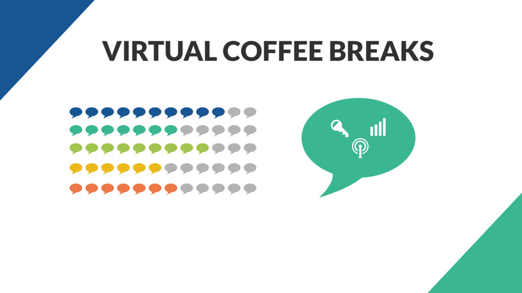 VIRTUAL COFFEE BREAKS