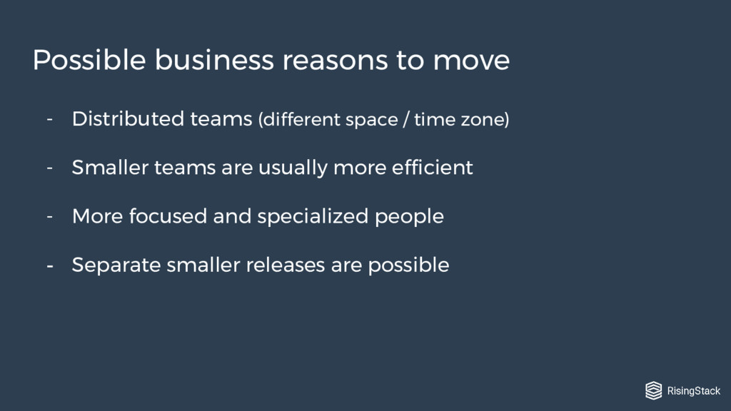 - Distributed teams (different space / time zon...
