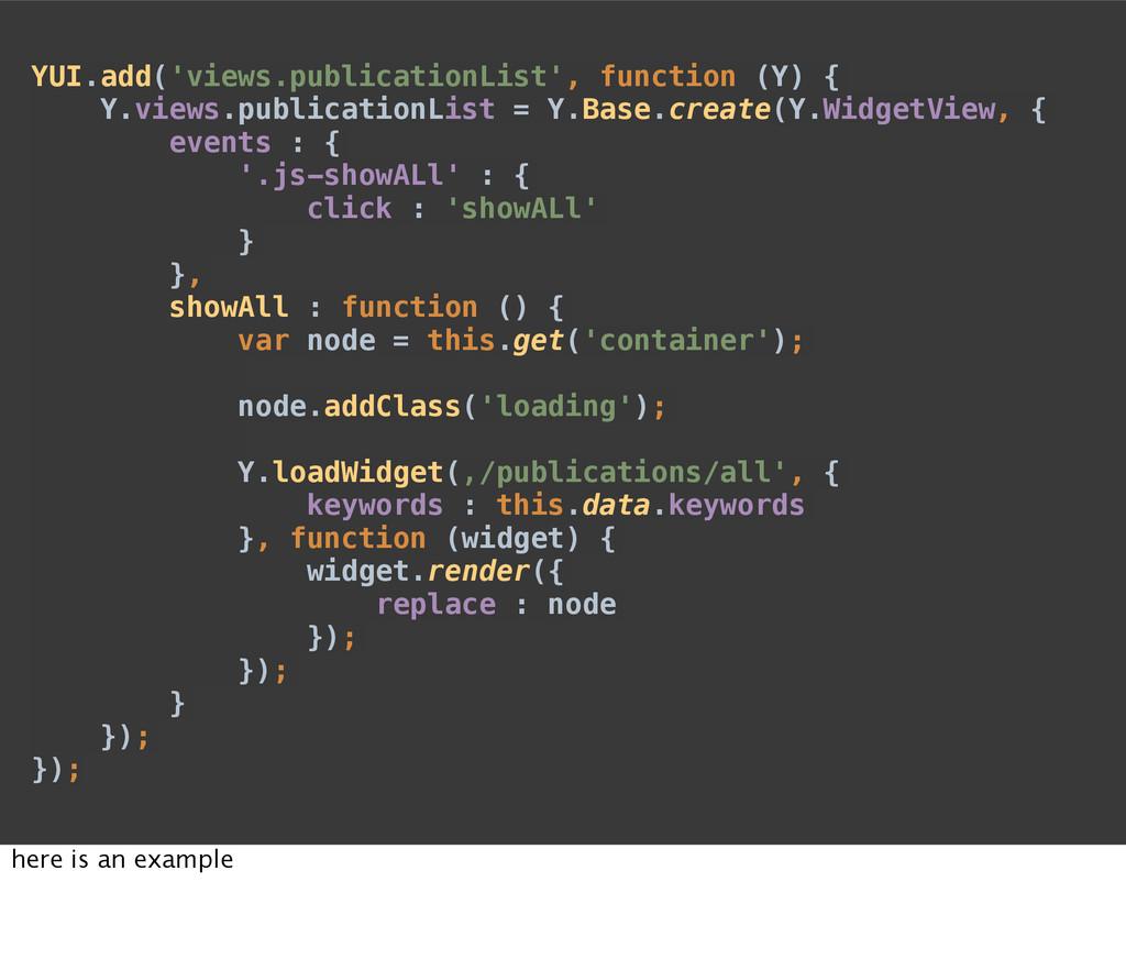 YUI.add('views.publicationList', function (Y) {...