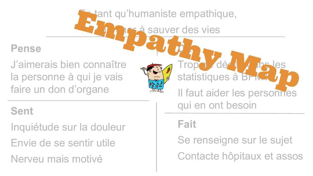 En tant qu'humaniste empathique, chercher à sau...