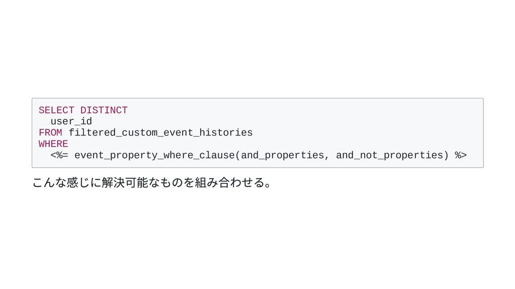 SELECT DISTINCT user_id FROM filtered_custom_ev...