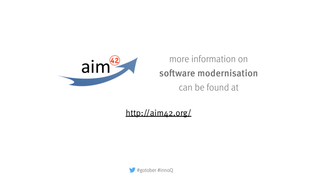 http://aim42.org/ more information on software ...