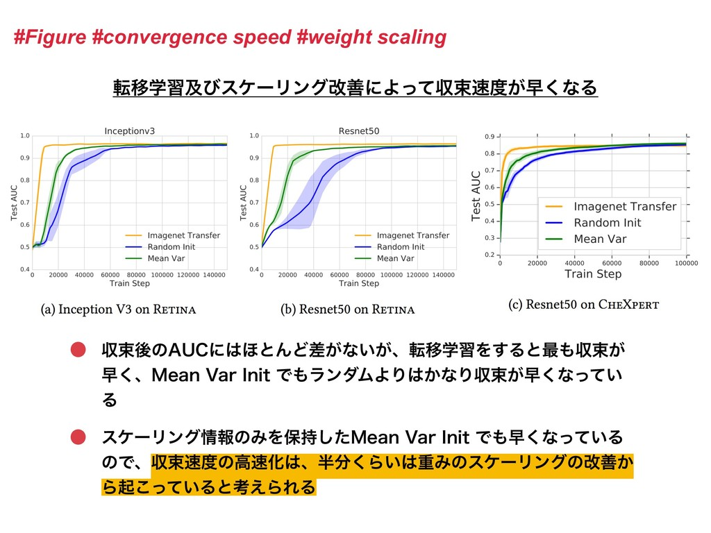 #Figure #convergence speed #weight scaling సҠֶश...