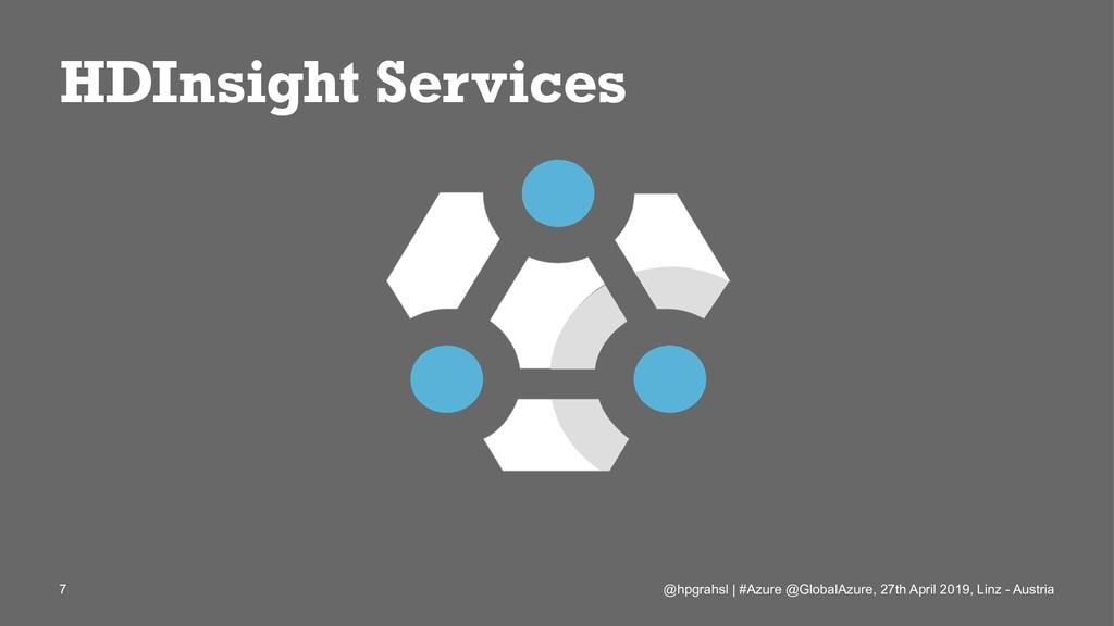 HDInsight Services @hpgrahsl   #Azure @GlobalAz...