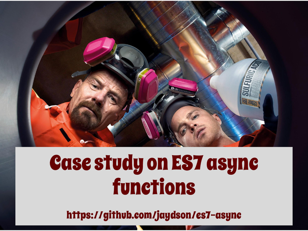 Case study on ES7 async functions https://githu...