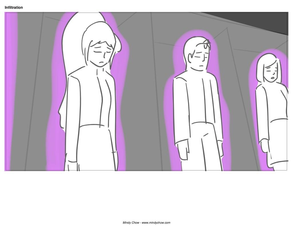 Infiltration Mindy Chow - www.mindychow.com
