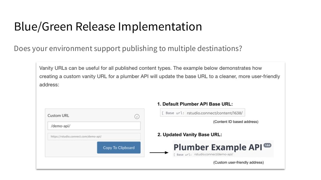Blue/Green Release Implementation Does your env...